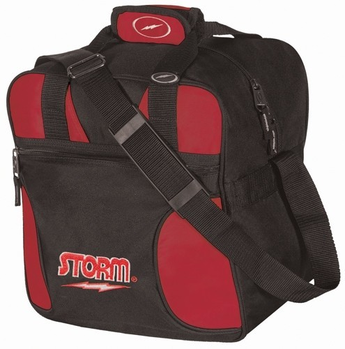 Storm Solo Tote Black/Red Bowling Bag