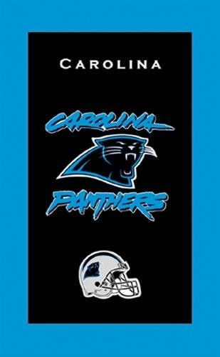 KR NFL Bowling Towel Carolina Panthers