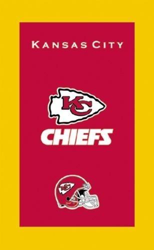 KR NFL Bowling Towel Kansas City Chiefs
