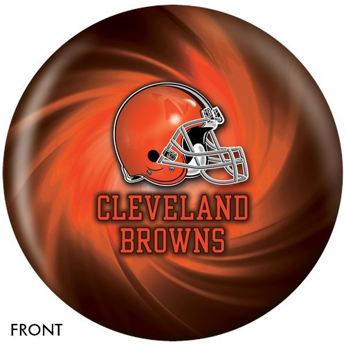 NFL Cleveland Browns Bowling Ball