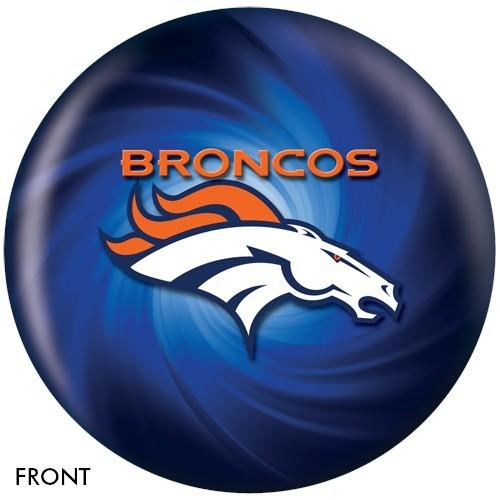 NFL Denver Broncos Bowling Ball