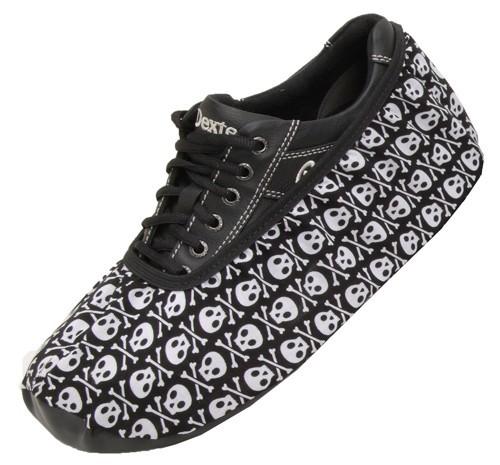 Master Mens Skulls Bowling Shoe Covers