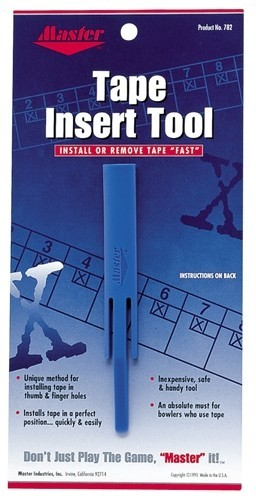 Master Bowling Tape Insert Tool