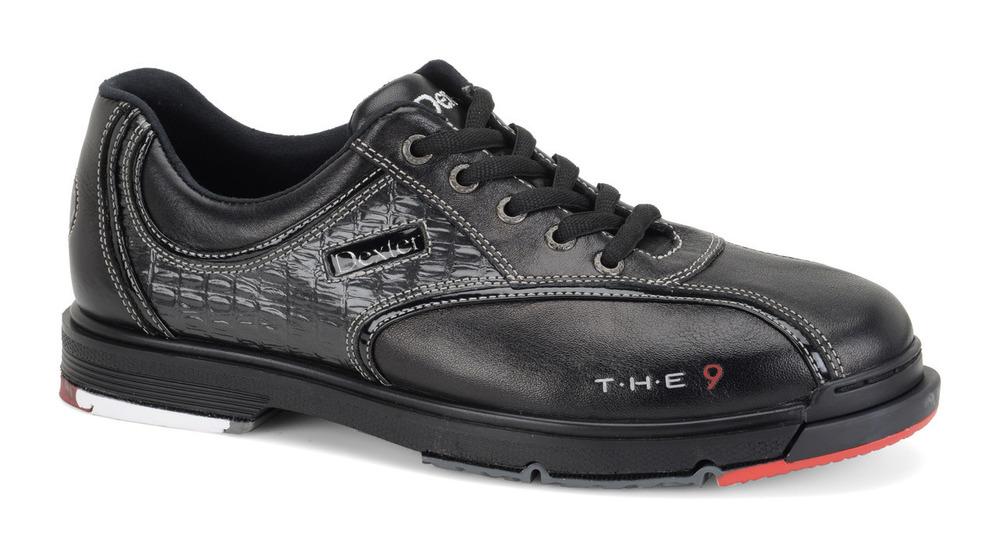 Dexter THE 9 Mens Bowling Shoes Black Bowling Shoes