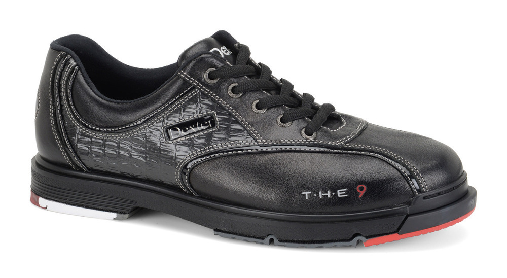 Dexter THE 9 Mens Bowling Shoes Black WIDE WIDTH Bowling Shoes