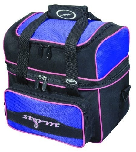Storm Flip Single Black/Purple Bowling Bag