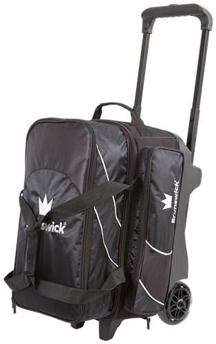 Brunswick Edge 2 Ball Roller Black Bowling Bag
