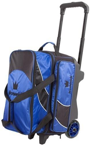 Brunswick Edge 2 Ball Roller Blue/Black Bowling Bag