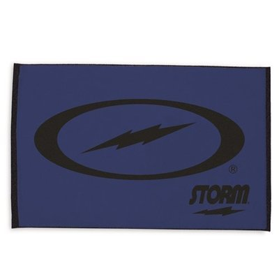 Storm Blue/Black Signature Woven Bowling Towel