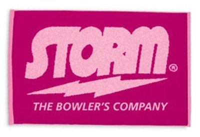 Storm Think Pink Woven Bowling Towel