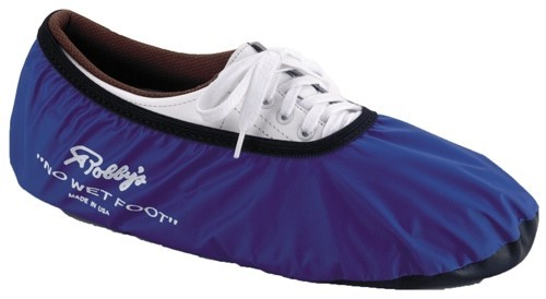 Robbys No Wet Foot Blue Bowling Shoe Covers