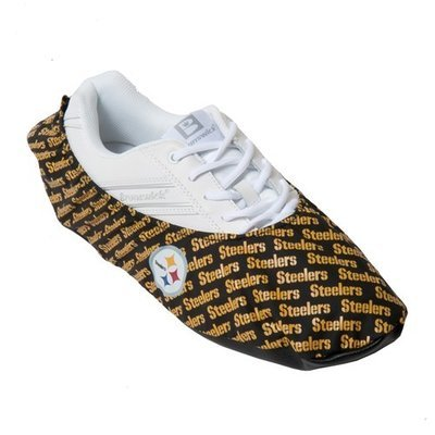 KR Strikeforce NFL Pittsburgh Steelers Bowling Shoe Covers