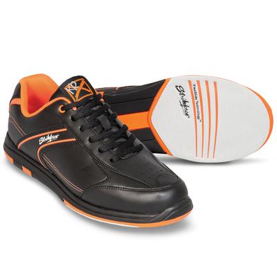 KR Strikeforce Flyer Black/Orange Mens Bowling Shoes