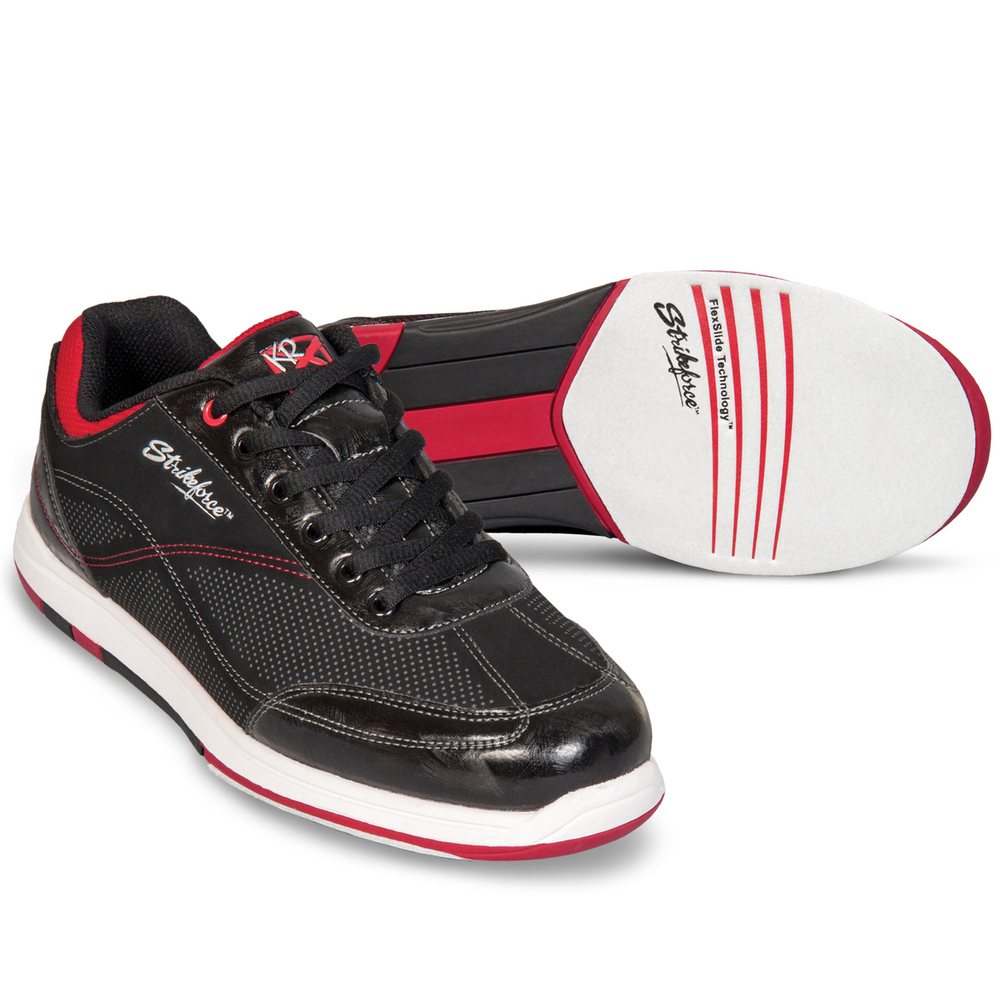 KR Strikeforce Titan Black/Salsa Mens Bowling Shoes