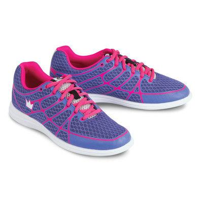 Brunswick Aura Purple/Pink Womens Bowling Shoes