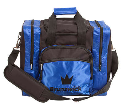 Brunswick Edge Blue 1 Ball Bowling Bag