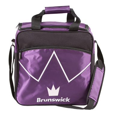 Brunswick Blitz Purple 1 Ball Bowling Bag