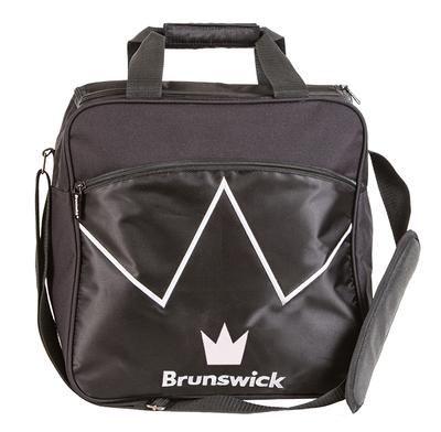 Brunswick Blitz Black 1 Ball Bowling Bag