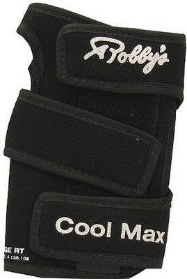 Robby's Cool Max Original Black Bowling Wrist Support
