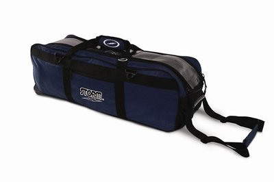 Storm Tournament 3 Ball Tote Navy Bowling Bag