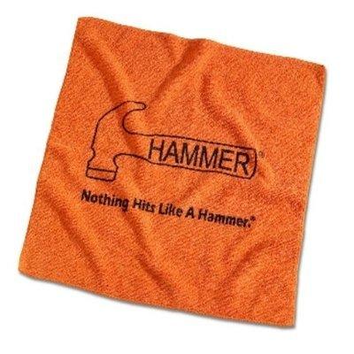 Hammer Orange Microfiber Bowling Towel