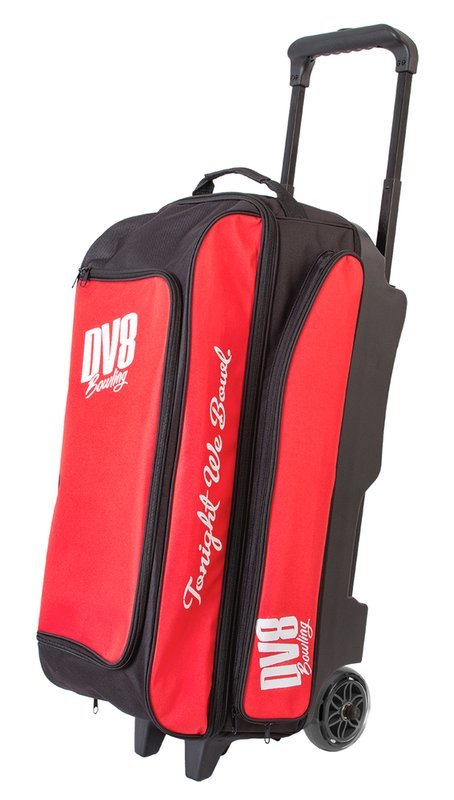 DV8 Freestyle Black/Red 3 Ball Roller Bowling Bag