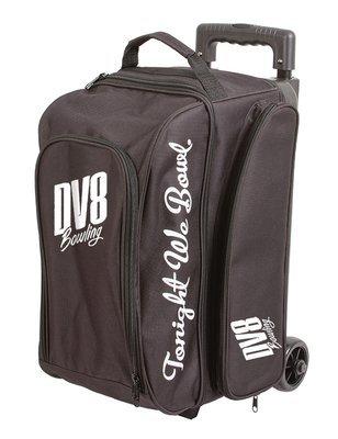 DV8 Freestyle Black 2 Ball Roller Bowling Bag