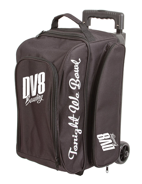 DV8 Freestyle Black 2 Ball Roller Bowling Bag