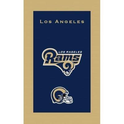 KR NFL Bowling Towel Los Angeles Rams