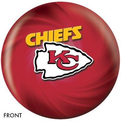 NFL Kansas City Chiefs Bowling Ball