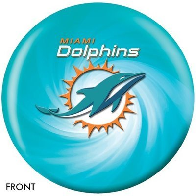 NFL Miami Dolphins Bowling Ball