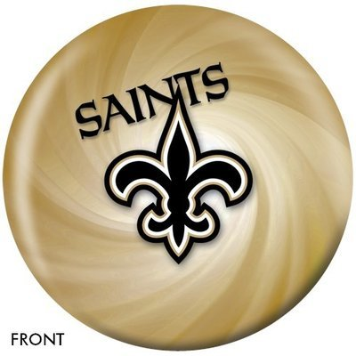 NFL New Orleans Saints Bowling Ball