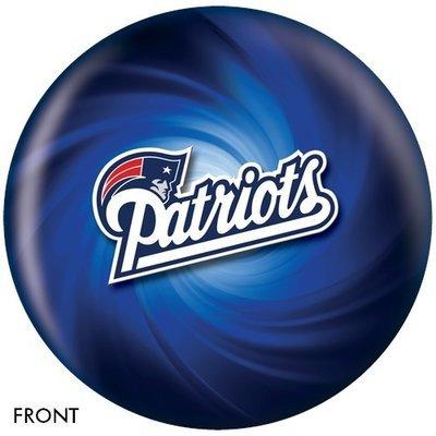 NFL New England Patriots Bowling Ball
