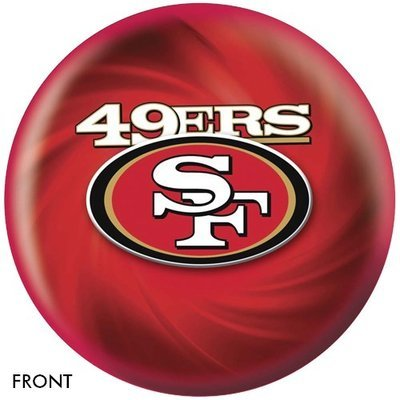 NFL San Francisco 49ers Bowling Ball