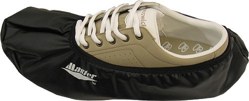 Master Black Bowling Shoe Covers