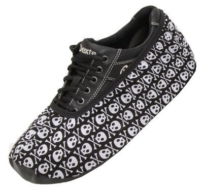 Master Mens Skulls Bowling Shoe Covers