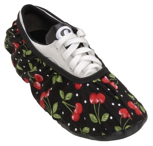 Master Womens Cherries Bowling Shoe Covers