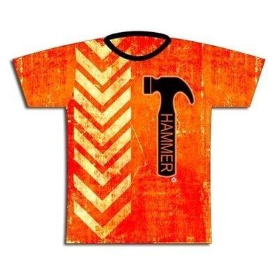 Hammer Orange Thread Dye-Sub Bowling Shirt Jersey