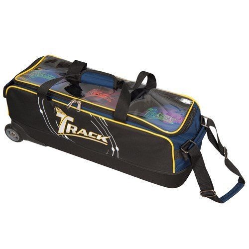 Track Premium Player 3 Ball Roller/Tote Bowling Bag