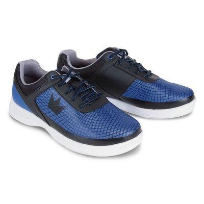 Brunswick Frenzy Black/Blue Mens Bowling Shoes