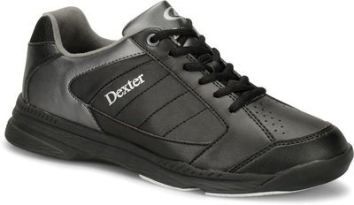 Dexter  Ricky IV Black/Alloy Wide Width Mens Bowling Shoes