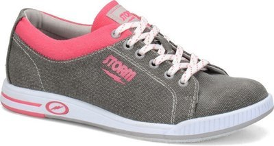 Storm Womens Meadow Grey/Pink Bowling Shoes