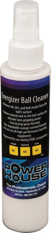 Powerhouse Energizer Bowling Ball Cleaner 5 oz Bottle