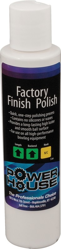 Powerhouse Factory Finish Bowling Ball Polish 5 oz
