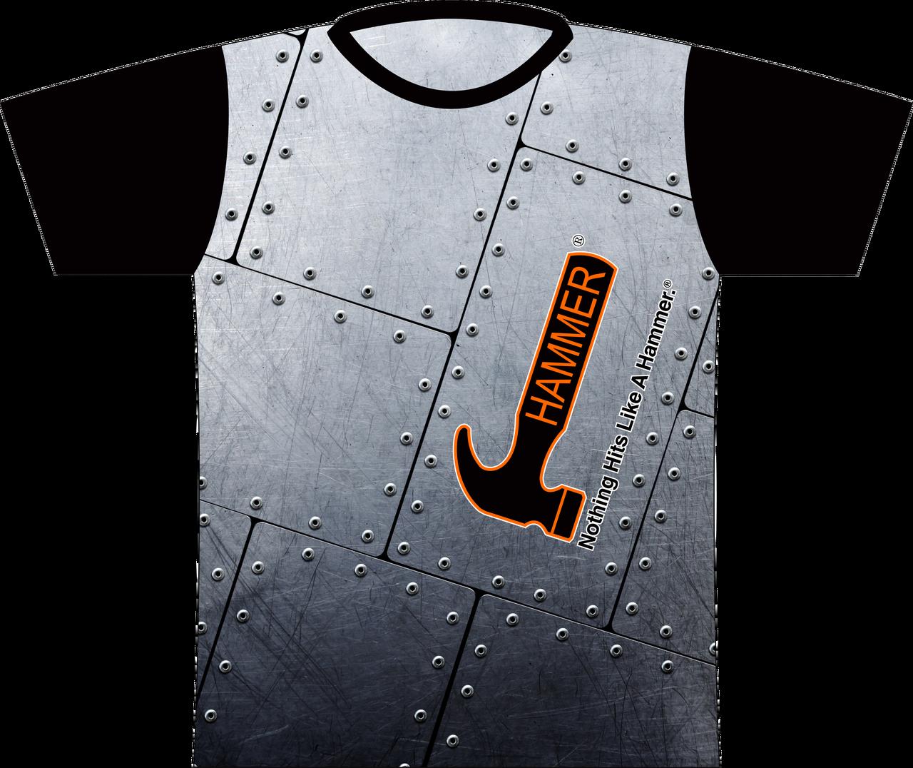 Hammer Steel Dye-Sub Bowling Shirt Jersey
