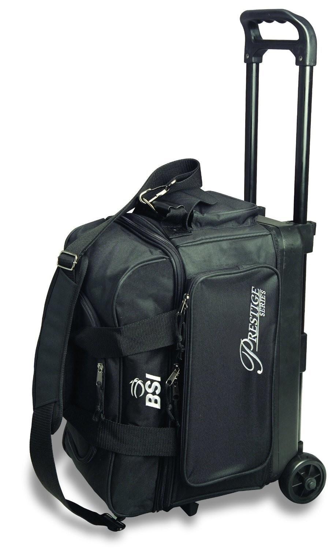 BSI Prestige Series Black 2 Ball Roller Bowling Bag
