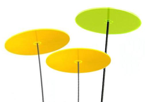 TRES 2 dischi gialli e 1 disco verde