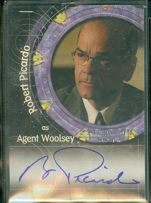 ( A 43 ) Robert Picardo as Agent Woolsey Autograph Card