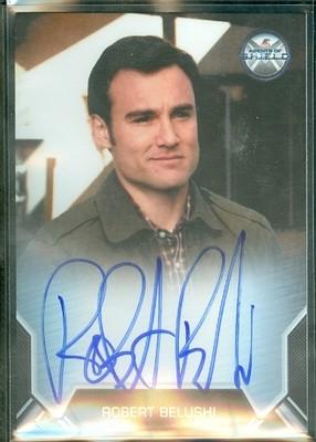 Robert Belushi as Jimmy Mackenzie Autograph Card Bordered