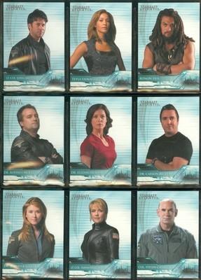 ( T 1 - 9 ) 9 Card Atlantis Team Insert Set
